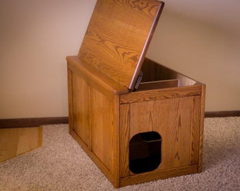 Jumbo Cat Litter Box