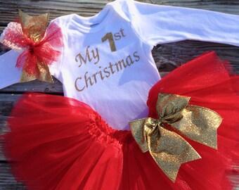MY FIRST CHRISTMAS Onesie- My First Christmas Onesie