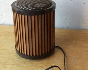 Portable speaker vintage Gyraudax 2 per year audax 50 Scandinavian style