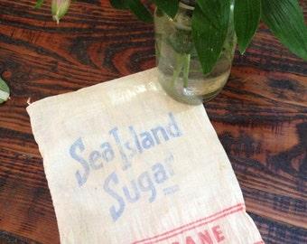 Vintage sugar sack- San Francisco refinery