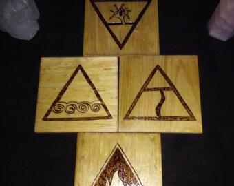 4 Elements Altar Tiles