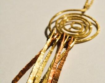 Swirl Dreamcatcher Necklace