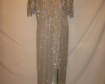 Silver sweetHeart Gown #7040