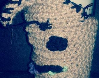 Crochet oogie boogie cozy