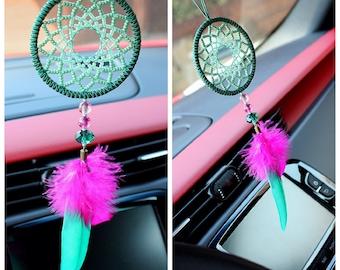 Dreamcatcher, tribal car accessories, home decor