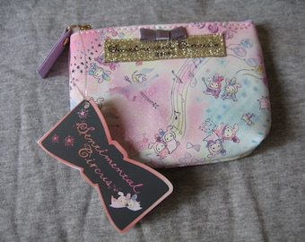 San-x sentimental-circus coins key case purse bag