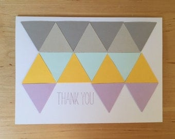 thank you (triangles)