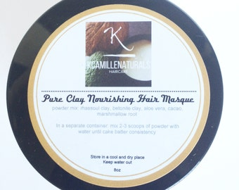 Pure Clay Nourishing Hair Masque