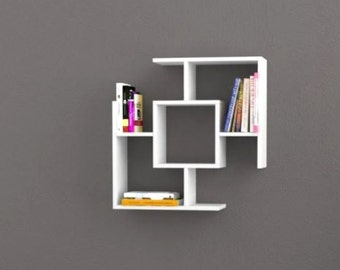 floating Shelves-floating shelf-hanging shelf-bookcase-shelf