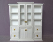 Bookcase /Display Cabinet for dolls / 1:6 scale shelves for 12 inch doll