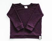 Classic Sweatshirt - Plum Bamboo