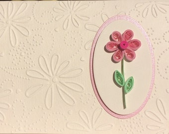 Quilled Floral All Occasion Card Set (3), Handmade Card Set, Quilled Card Set, Handmade Gifts, Floral Greeting Cards, Floral Card Set