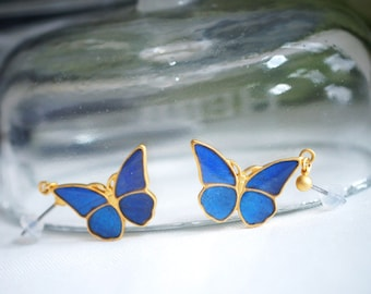 Antique Morpho Earring S