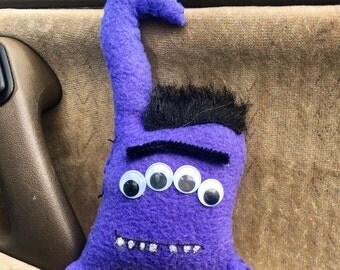 Purple Unibrow Monster (nickname - Puni)