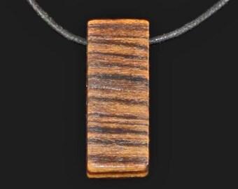 Wood Minimalist Necklace,Pendant,Wood Necklace for Men,Minimalist Necklace Men,Good Wood Necklace,Wood Necklace for Women