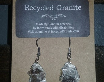 Recycled Granite Earrings