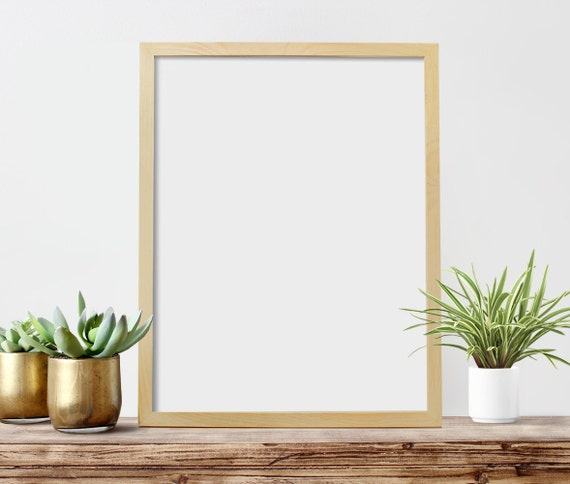 18x24 poster frame no glass 18 x 24 by cheekysheepwoodshop