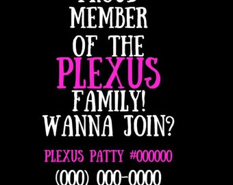 Plexus family decal- Join Plexus decal- Car decal Plexus, plexus family, wanna join, member of plexus, plexus health, plexus life, decal car