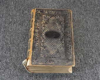 The Family Bible Containing The Old And New Testament C. 1857