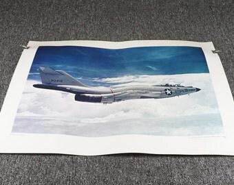 U.S. Govt Printing Office F-101 Voo Doo Print 40L C.1968