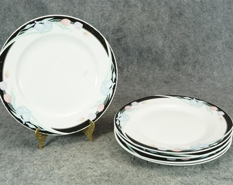 Caravel by Excel Dinner Plates Caravel Pattern Set of 5 c. 1980s