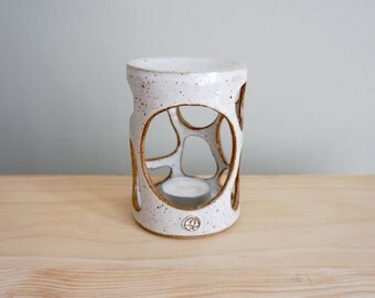 Made to Order | Pebbles. Handmade essential oil burner, candle holder by MUD TO LIFE