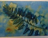 Greeting Card, Hand Paint...