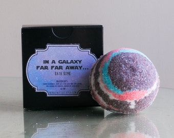 In A Galaxy Far Far Away Star Wars Bath Bomb for Relaxation- Aromatherapy (60mm)