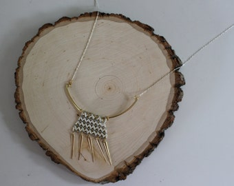 Nile Queen Beaded Necklace