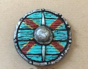 Rollo Vikings Shield - Pendant or Brooch