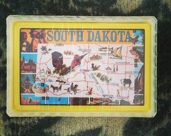 Vintage South Dakota Card Deck
