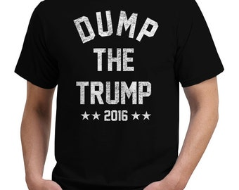 dump the trump 2016 political vote funny t shirt