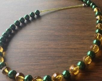 Beaded  Oregon Necklace