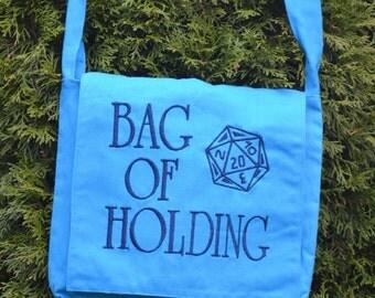 Bag of Holding D20 Messenger Bag (Reversible)