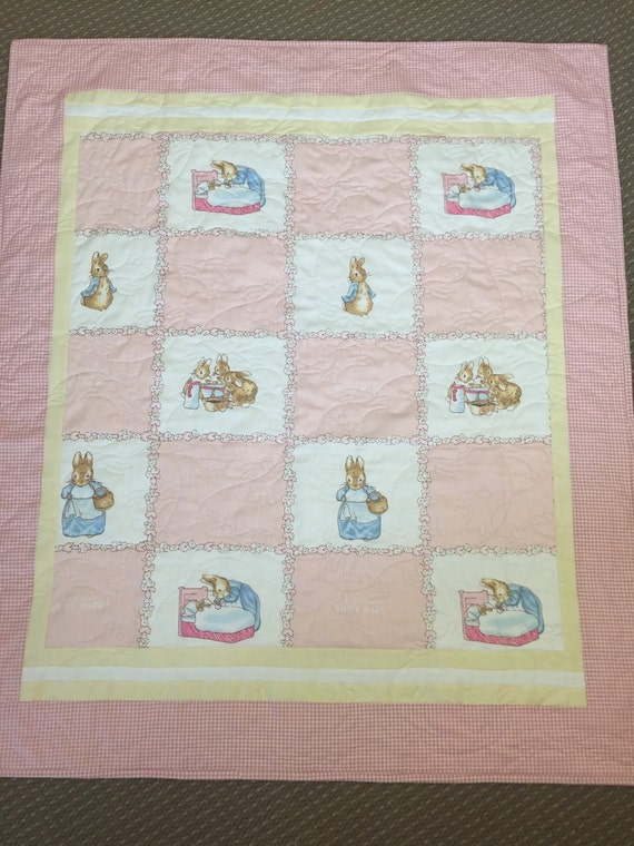Beatrix Potter Baby Gifts Australia : Beatrix potter peter rabbit baby quilt throw blanket