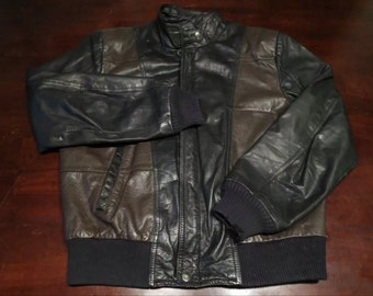 Blouso bomber style Michael Jackson Hill & Archer 80's