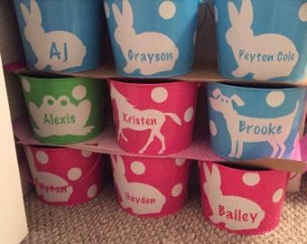Personalized Easter Basket / Bucket