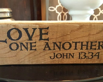 JENNIFER Custom/As for me.../ Love One Another / Message Blocks