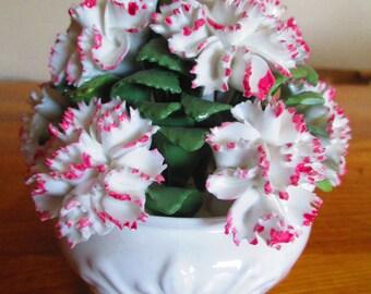 astbury royal albert works , china flower bowl ornament ref 8