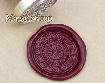 Decorative pattern  Wax Seal Stamp, weddiOnly 1 Stamp--Silverng stamp ,party wax seal stamp,initial wax seal stamp(DZ278)
