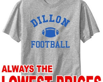 Dillon Panthers Football Friday Night Lights Heather Gray T-Shirt t shirt