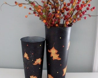 Falling Leaf Container