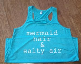Mermaid Hair & Salty Air Bella Tank