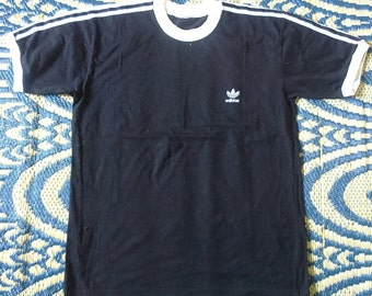Hot Sale, Rare Vintage adidas Ringes Tshirt