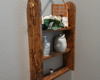 Pallet Wood Hanging Shelf