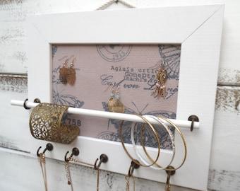 Jewelry Holder, Jewelry Organizer,  necklace display/brecelet display/11.8.5
