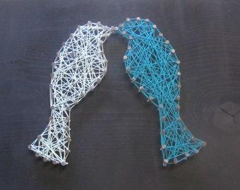 Lovebird String Art