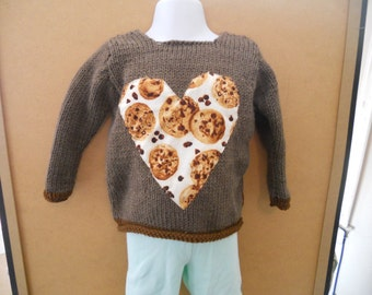 Chocolate Chip Cookie Sweater