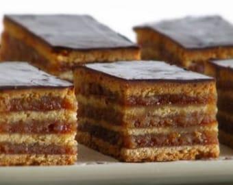 "Gerbeaud ""Zserbó Süti"" - Hungarian Dessert  (World Famous)"