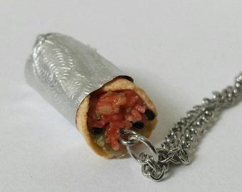 Tiny Burrito Necklace